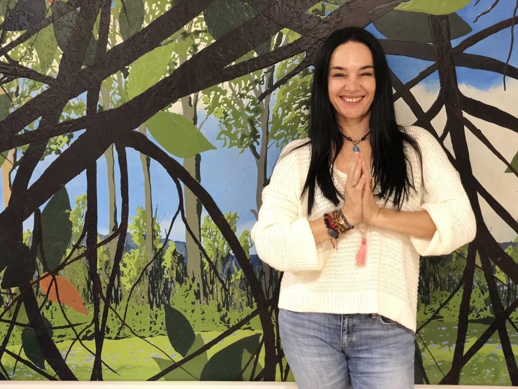 Cynthia Zac es la creadora del mindfulness en movimiento