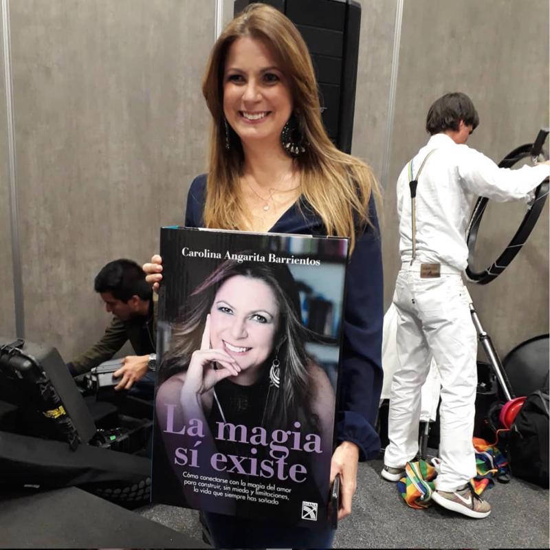 Carolina Angarita, autora del libro La magia sí existe