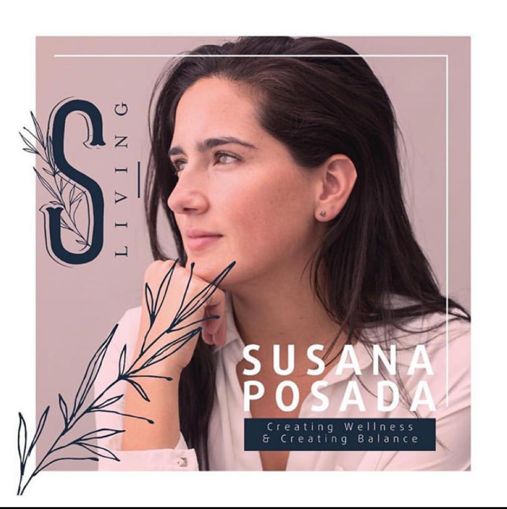 Susana Posada Shanti living Asuntos de Mujeres