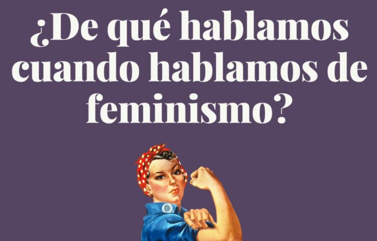 Taller de feminismo con Asuntos de Mujeres